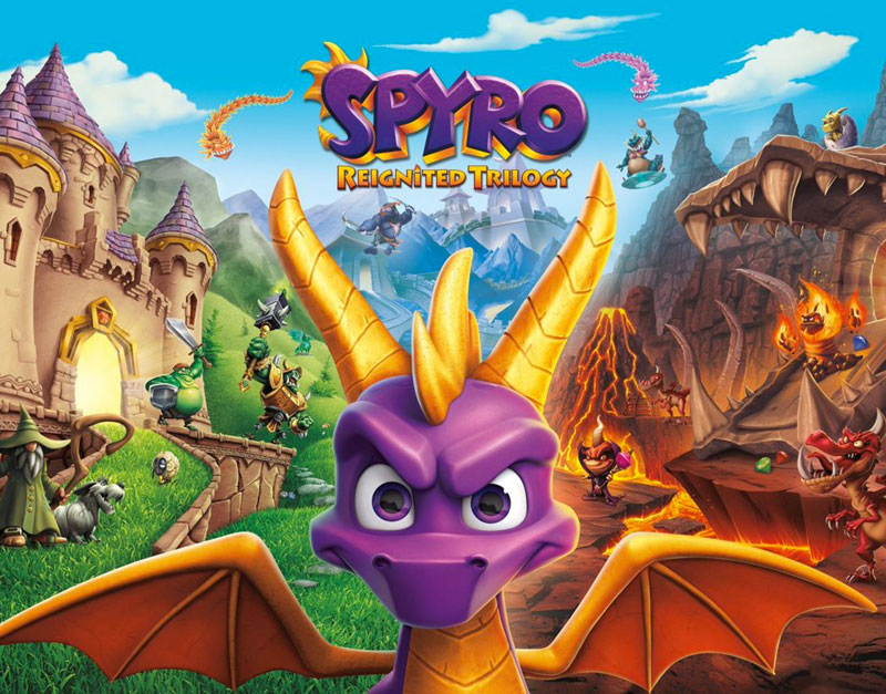 Spyro Reignited Trilogy (Xbox One), This Is Ur Game, thisisurgame.com